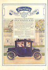 1912 WAVERLY ELECTRIC   ORIG VINTAGE CAR  AD