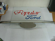 New Genuine Ford Ranger Front Grille Moulding Chrome - 1456309