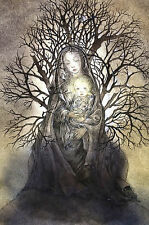 Sulamith Wulfing ANGEL of CONSOLATION 2015 Calendar Art Professionally Matted