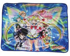 "Sailor Moon S Super Sailor Moon & Guardians Sublimation Throw Blanket 46"" x60"""