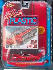 1970 Mercury Cyclone Spoiler Johnny Lightning Classis Plastic Series 1/64 Scale
