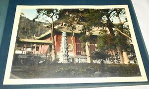 "1924 Lingyin Temple Hangchow ""Hangzhou"" China Hand Colored Photo"