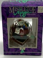 Vintage 1997 Mistletoe Magic Collection Christmas Ornament To my Love Retired