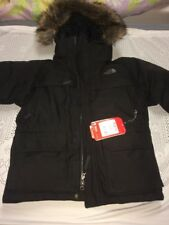 The North Face McMurdo Down Parka Jacket Black Junior Small Bnwt