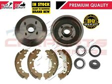FOR FORD PUMA 1.4 1.6 1.7 REAR NEW BRAKE DRUM SHOES BEARINGS 180mm DRUM ABS