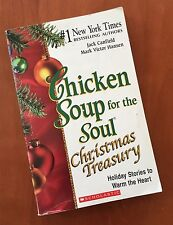 Chicken Soup for the Soul CHRISTMAS TREASURY Holiday Stories PAPERBACK BOOK