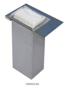 San Jamar H2005CLSS In-Counter Drop-in Fullfold/Control Face Napkin Dispenser