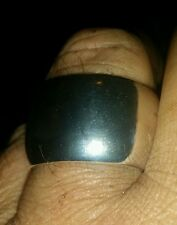 YOU GUYS ASKED! SUPER KAHUNA 1OZT PURE .999 SILVER SZ9-15 RING ANARCHY JEWELRY W