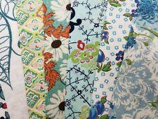 "Best 20 Vintage All Aqua Feedsack Fabric Quilt 5 x 8"" Charms Flour Sack Pcs"