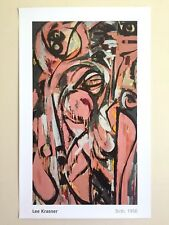 "LEE KRASNER FOUNDATION ABSTRACT EXPRSNT LITHOGRAPH PRINT POSTER "" BIRTH "" 1956"