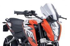 CUPOLINO NAKED N.G. SPORT PUIG KTM 390 DUKE 2013 FUME' CHIARO