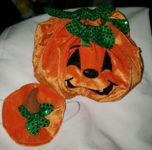 BUILD A BEAR PUMPKIN COSTUME