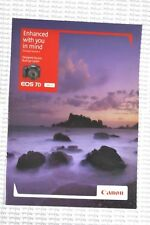 Canon EOS 7D version 2 Camera Brochure - Enhanced with you in mind - New