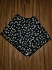 Nursing Cover Amy coe Peace Signs Black