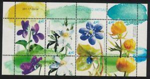 Estonia Glowerflower Violet Anemone Flowers MS 2004 MNH SG#MS459 CV£7.50
