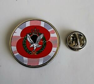 Army Air Corps Poppy Military Army lapel badge