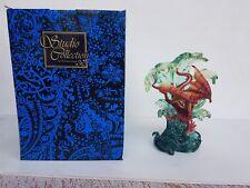 Dragon in Waves Statue 21cm Veronese Design Studio Collection Fantasy NEW RARE!