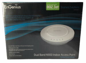 EnGenius EAP900H Dual Band N900 Indoor Access Point Ceiling Mount 802.3at Extend