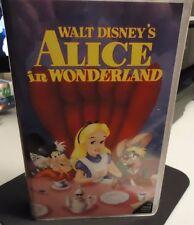 ALICE In WONDERLAND Walt Disney's Classic BLACK DIAMOND (#036 - 1992) FREE SHIP