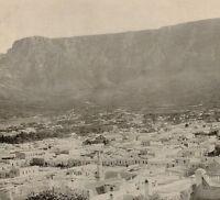 1899 Aufdruck Colonial South Afrika Blick Auf Tisch Berg Umhang Stadt Malaiisch