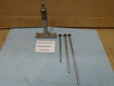 Brown Amp Sharpe 607 Depth 0 3 Micrometer 001 Res For Machinist Lathe Mill D473