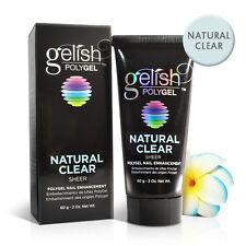 Nail Gelish Harmony PolyGel Natural Clear -  Sheer 2oz / 60g #1712001