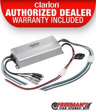 Clarion Xc2410 Class D Marine Boat Powersports 4 Channel Amplifier 50 W Rms x 4