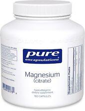 Pure Encapsulations Magnesium (citrate) 180 Capsules