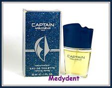 CAPTAIN BY MOLYNEUX EAU DE TOILETTE 1 OZ / 30 ML FOR WOMEN NEW IN BOX