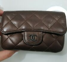 62cc2c81fee2 CHANEL Leather Coin Purses Purses & Wallets for Women for sale | eBay