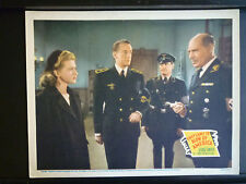 1943 THEY CAME TO BLOW UP AMERICA - LOBBY CARD - WWII NAZIS WAR - GEORGE SANDERS