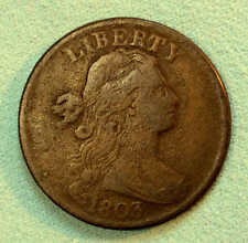 1803 Large Cent Sharp Large Fraction Very Nice FREE SHIPPING AA8