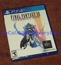 Final Fantasy XII 12 The Zodiac Age (PlayStation 4) BRAND NEW & SEALED! ff12 ps4