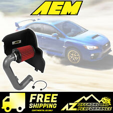 AEM Cold Air Intake System 2015-2017 Subaru WRX 2.0L H4 Gunmetal Gray 21-732C