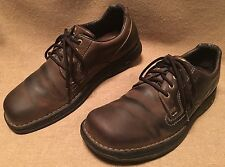 Men shoes MERRELL brown leather  oxford casual Sz 12
