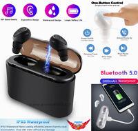 Wireless Bluetooth 5.0 Mini Invisible Tws Earphone In-ear 5D Stereo Headphones