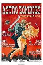 Astro Zombies Cartel 01 A4 10x8 impresión fotográfica