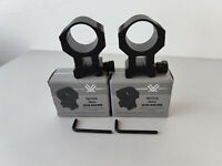 """Vortex Optics Tactical 30mm Riflescope Rings 1.57""""/40mm Extra-High Ring 2 Rings"""