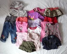 Lot 16 items Girls Pants Skirt Gap Old Navy Carter's Gymboree Size 12 months