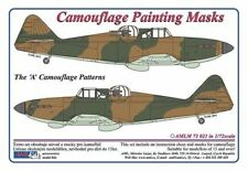 """Aml 1/72 Boulton Paul Defiant Mk.l """" A """" Motif Camouflage Jeu Peinture Masque"""