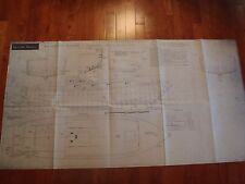 vintage yacht blueprints full drawings 1968 Water Witch Mark II Yachting Monthly
