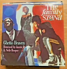 """VINTAGE VINYL Record Collector """"THE FAMILY STAND"""" by GHETTO HEAVEN"""" Album,Single"""