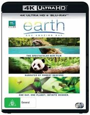 Earth - One Amazing Day (Blu-ray, 2018, 2-Disc Set)