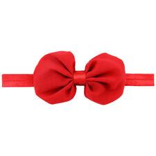 Baby Blumen Haar schleife Band rot R8y1 W2