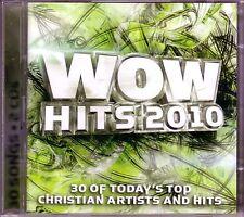 WOW Hits 2010 2CD Box Classic Christian Rock Pop CHRIS TOMLIN NEWSBOYS JARS CLAY