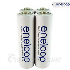 4 x Panasonic Eneloop AA batteries 1900mAh Rechargeable Ni-MH Accu BK-3MCCE LR06