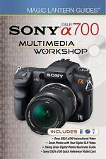 Magic Lantern Guides for Sony DSLR a700 Multimedia Book/DVD NEW! Free Shipping!