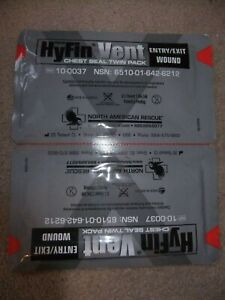 North American Rescue HYFIN Vent, chest seal  Entry & Exit Expiry 2025