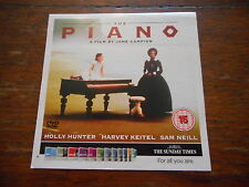 Piano Film Holly Hunter Harvey Keitel Sam Neill DVD Jane Campion 15