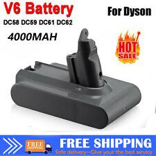 PRO FOR DYSON V6 4000MAH BATTERY ANIMAL DC58 SV03 SV05 SV06 Absolute UK STORE